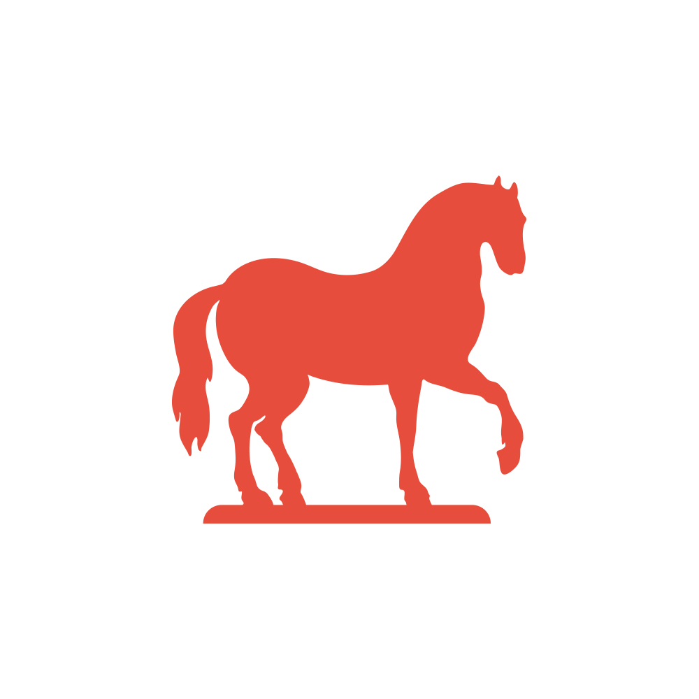 Relatively Horse Silouette – Logotypes Cheap II42
